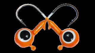 Головки джигерные Strike Pro шар крашенные с глазами
